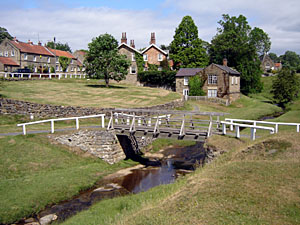 Photo of Hutton le Hole village beck