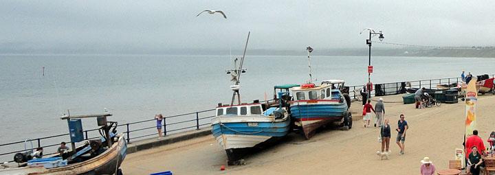 Fishing Boats at Filey Coble Landing
