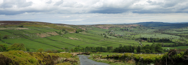 View of Glaisdale North York Moors National Park