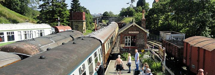 Goathland Railway Station - North York Moors Railway