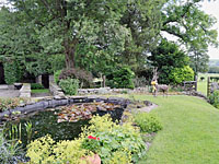 Photo of the garden at Nab End Farm Holiday Cottages in Glaisdale near Whitby