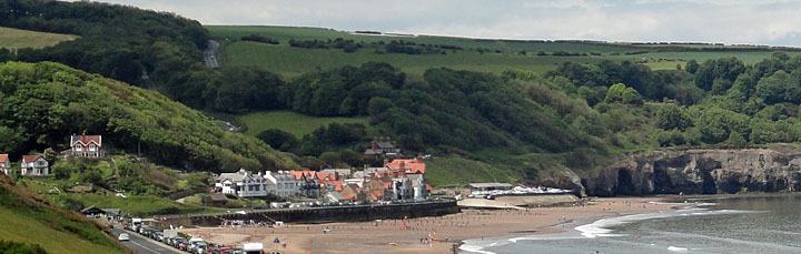 Photo of Sandsend Village from Whitby road
