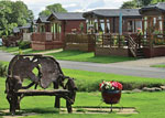 Holiday Lodges near Richmond North Yorkshire - Badgers Retreat Tunstall