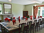 Dining room at Birdforth Hall ( Ref IYV ) Holiday cottages near Thirsk North Yorkshire