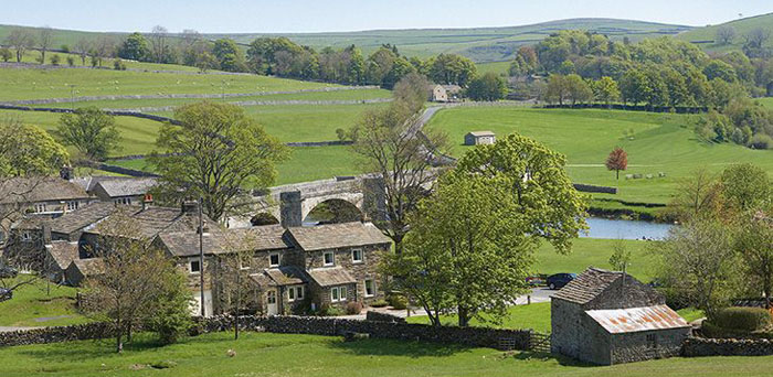 Fell Beck Cottage in Burnsall village in Yorkshire Dales