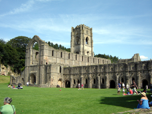 Photo of Fountains Abbey near Ripon North Yorkshire
