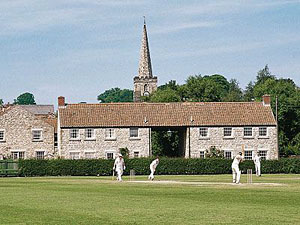 Photo of Pickering Cricket Ground - Overlooked by Hungate Cottages