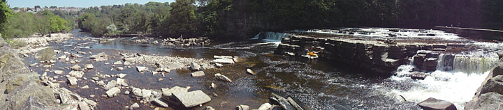Photo of River Swale in Richmond North Yorkshire