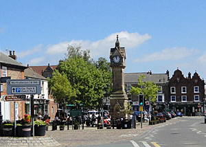 Photo of Thirsk Market Place in North Yorkshire