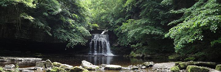 West Burnton waterfall