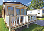 Caravan Accommodation at Bowland Fell Park at Tosside near Skipton in North Yorkshire