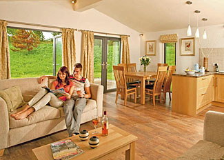 Interior of Daleside Lodge ( Ref LP7305 ) West Tanfield Holiday Lodges at Cedar Retreats