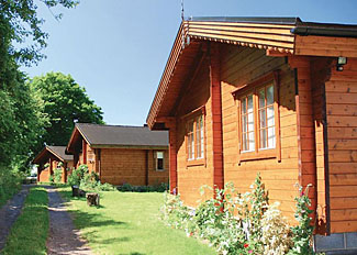 Lodge setting at Home Farm Lodges Stillingfleet - Holiday Park near York