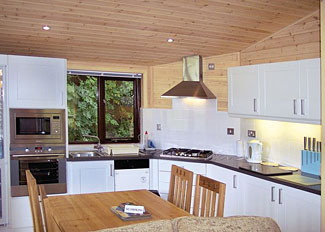 Larch Lodge interior ( Ref LP3355 ) at Lindale Park Bedale - Self catering holiday lodges in North Yorkshire