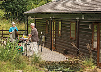 Lindale Park Holiday Lodges near Bedale - Elm Lodge ( Ref LP3747 ) Self Catering Accommodation North Yorkshire