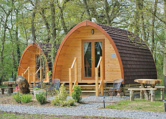 Paradise Pod ( Ref LP8629 ) Self Catering Accommodation at Paradise Lakeside Storwood near York