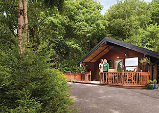 Setting of Sneugle Lodge ( Ref LP2280 ) Spring Wood Holiday Lodges near Harrogate North Yorkshire