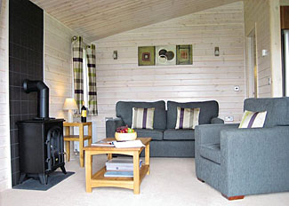Interior of Willow Lodge ( Ref LP5412 ) Holiday Lodges at Wighill Manor near York