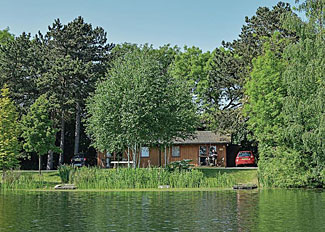Setting of Ebor Lodge ( Ref LP1457 ) Self Catering Accommodation at York Lakeside Lodges