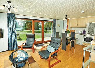 Living area in Jorvik Lodge ( Ref LP1718 ) York Lakeside Holiday Lodges