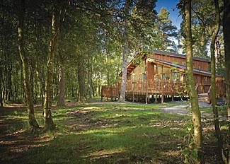 Typical Golden Oak Lodge ( Ref LP5581 ) at Cropton Lodges near Pickering North Yorkshire