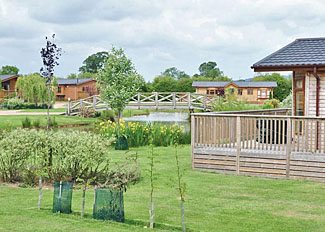 Setting at York House Country Park near Thirsk - Holiday Lodges in North Yorkshire