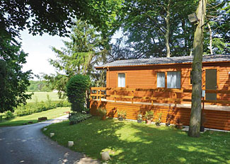 Allerton Lodge setting - Holiday Park near Knaresborough North Yorks