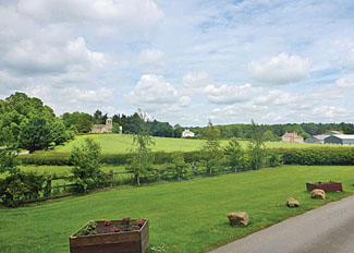 View from Allerton Holiday Park - Self Catering Accommodation near Knaresborough North Yorkshire