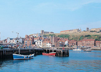 Whitby Harbour is close to Captain Cook's Haven - Holiday park near Whitby