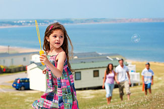 Holiday park near Filey North Yorkshire - Reighton Sands has a lovely cliff top location