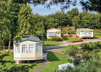 Park setting at Robin Hood Caravan Park in Slingsby - North Yorkshire Holiday Park near York