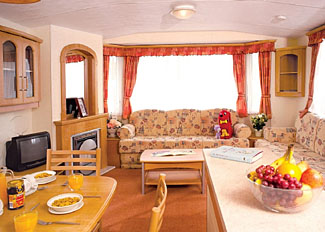 Photo of interior of Bedale Caravan ( Ref LP1488 ) at Robin Hood Holiday Park near York