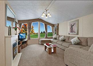 Interior view of Rosedale Caravan ( Ref LP2169 ) Robin Hood Caravan Park Slingby