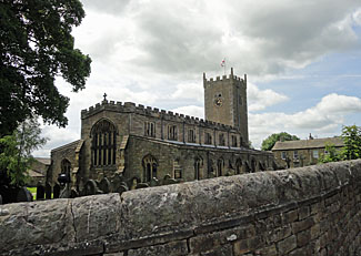 St Oswalds Church in Askrigg Wensleydale North Yorkshire