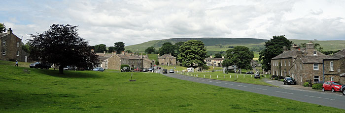 Photo of Bainbridge village green - Wensleydale village near Hawes North Yorkshire