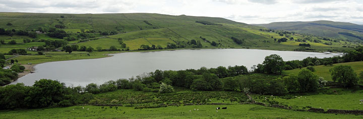 Lake Semerwater is a glacial lake - Just three miles from Bainbridge
