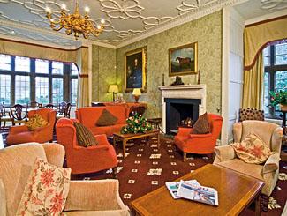 Gisborough Hall Hotel drawing room