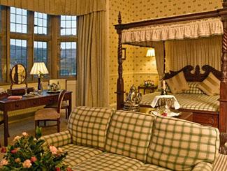 Lady Gisborough Room - Bedroom at Gisborough Hall Hotel near Middlesborough