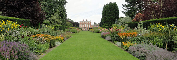 Newby Hall House & Garden with magnificent flower borders