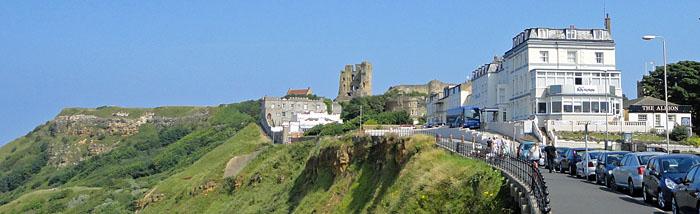 Norbreck Hotel near Scarborough Castle - Coach tours to Yorkshire coast