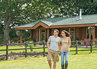 Holiday Lodges near Leyburn - Sun Hill Lodges at Constable Burton North Yorkshire