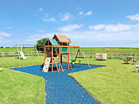 Children's play area at Scalby Lodge Farm - Self catering accommodation near Scarborough North Yorkshire