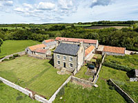 Setting of self catering accommodation at Thirley Cotes Farm - Harwood Dale near Scarborough