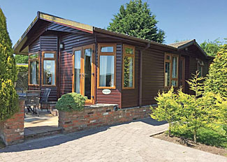 Setting of Sycamore Lodge ( Ref LP2900 ) at Hollybrook Lodges Easingwold near York