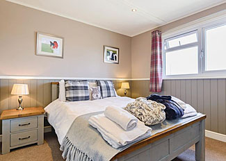 Double bedroom at Grosmont Lodge ( Ref LP11438 ) Holiday Lodge near Pickering North Yorkshire