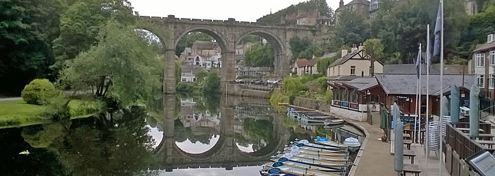 Photo of Knaresborough Viaduct and River Nidd North Yorkshire