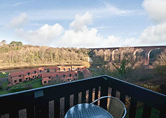 View from Discovery Cottage ( Ref LP1417) at Captain Cooks Haven in Larpool Whitby - Holiday Park North Yorkshire