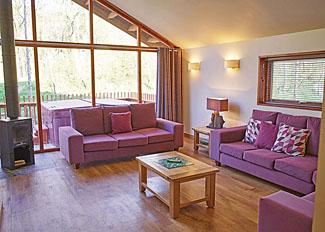 Golden Oak 3 Lodge living area ( Ref LP7477 ) Cropton Lodges near Pickering