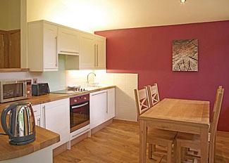 Silver Birch 2 Lodge kitchen area ( Ref LP4060 ) Cropton Lodges near Pickering