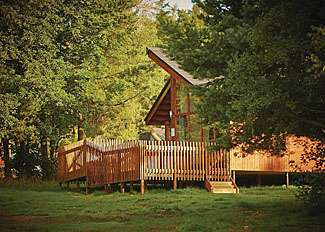 Setting of Silver Birch 3 Lodge ( Ref LP3970 ) at Cropton Lodges - Self Catering Accommodation near Pickering
